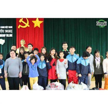 Món quà ý nghĩa đến với trẻ em làng hữu nghị Việt Nam