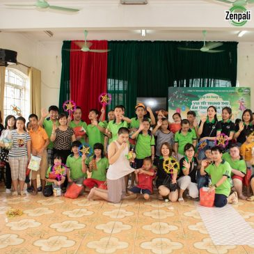 Zenpali Group mang vầng trăng yêu thương đến với trẻ thơ làng hữu nghị Việt Nam