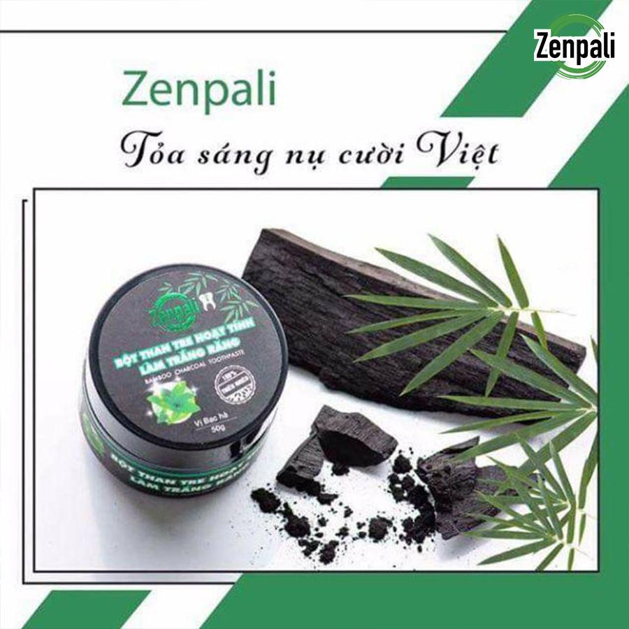 Bột than tre trắng răng Zenpali T