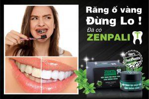 Bột than làm trắng răng Zenpali