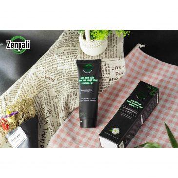 Sữa rửa Zenpali C thương hiệu mỹ phẩm an toàn tuyệt đối cho da