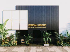 Hình ảnh nhà máy sản xuất và gia công mỹ phẩm Zenpali