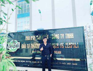 Anh Lê Diên Hanh - tổng giám đốc thương hiệu mỹ phẩm Zenpali