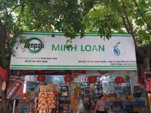 Bộ nhận diện thị trường thương hiệu Zenpali nổi bật