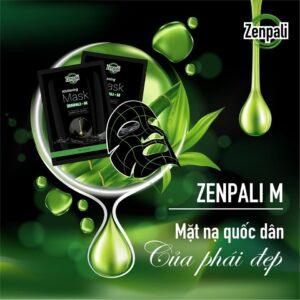 Mặt nạ xông da thải độc than hoạt tính Zenpali M