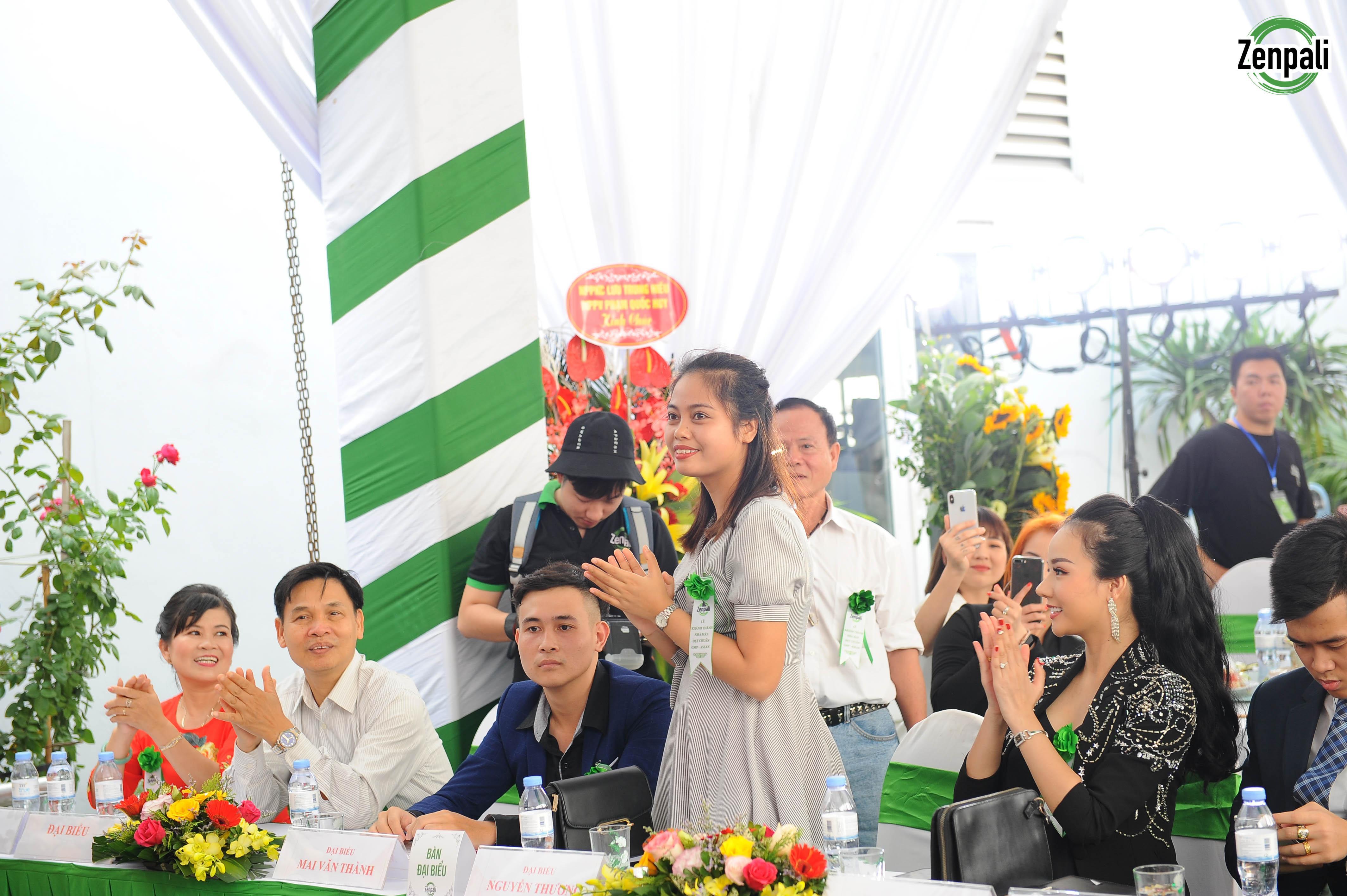 Bà Nguyễn Thị Thương – Giám đốc công ty TNHH Tư vấn Fnial Legal Việt Nam - đại diện cơ quan Pháp Lý bảo hộ Công ty Zenpali