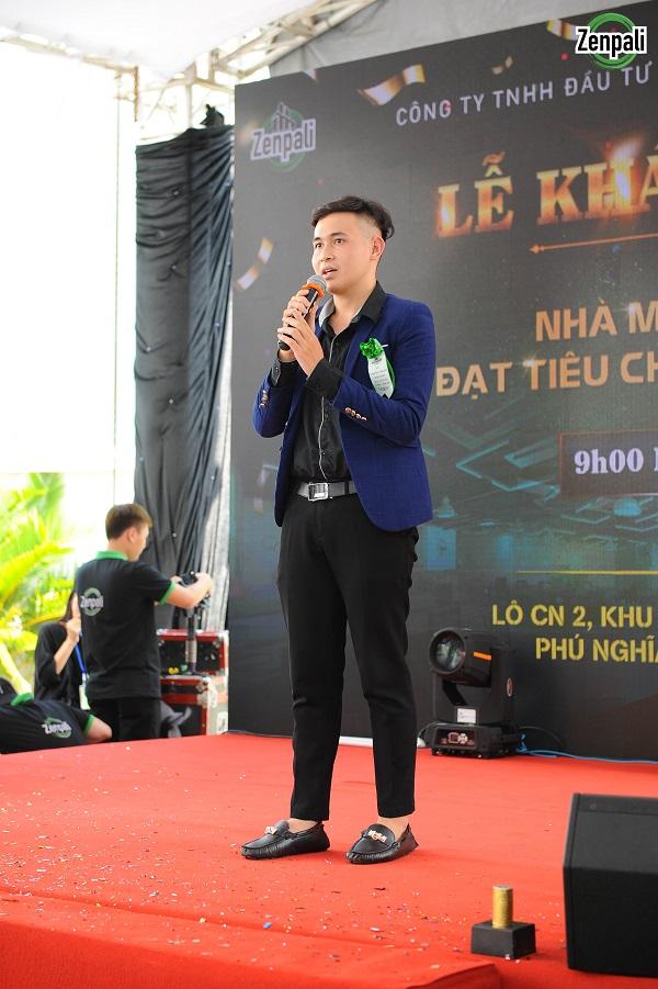 Ông Mai Văn Thành – PGĐ công ty TNHH Tư vấn Fnial Legal Việt Nam - đại diện cơ quan Pháp Lý bảo hộ Công ty Zenpali