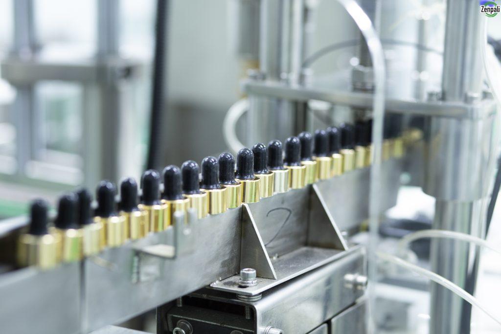 Hệ thống dây chuyền sản xuất, máy móc tiên tiến, hiện đại được nhập khẩu từ Châu Âu