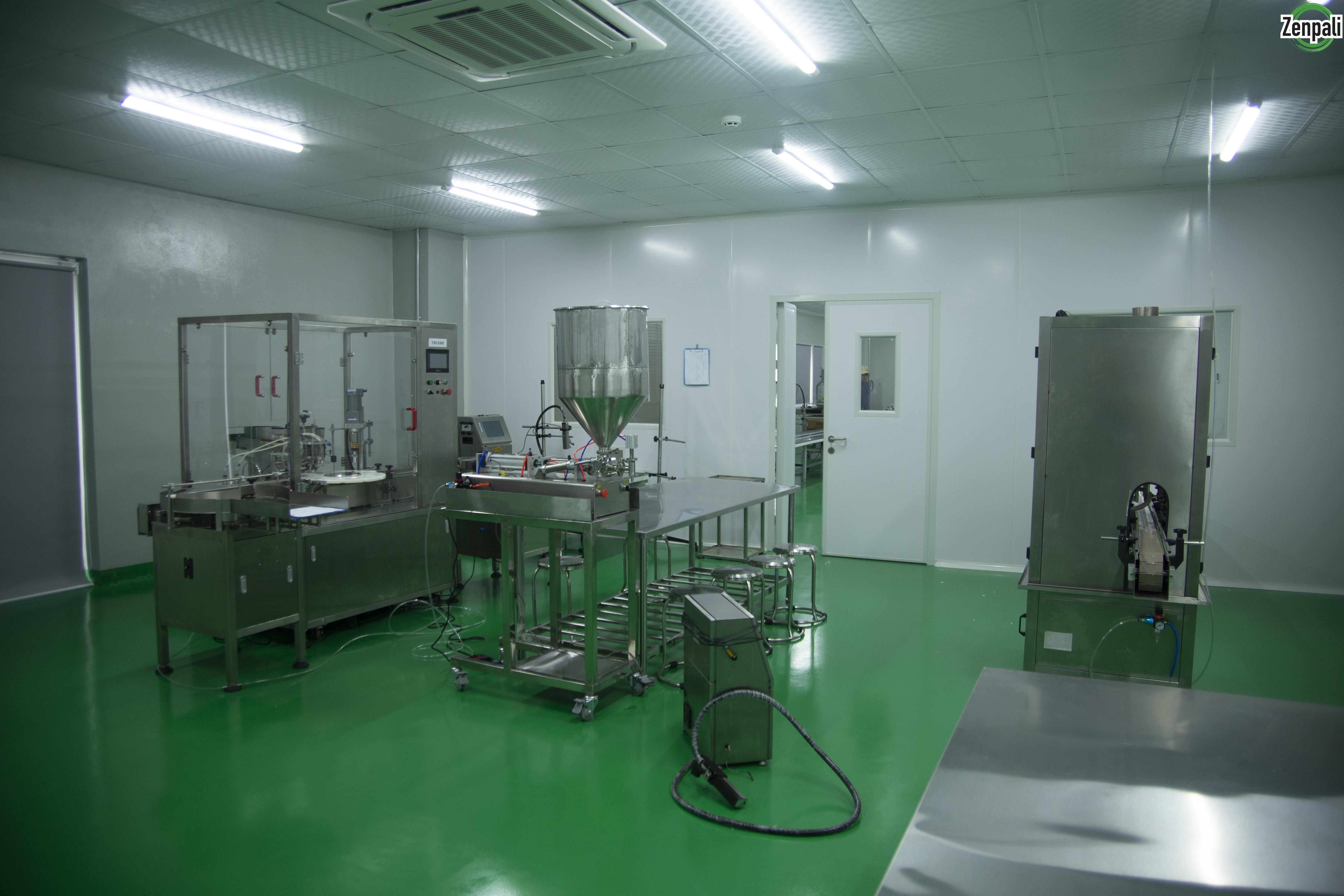 Nhà máy sản xuất mỹ phẩm theo tiêu chuẩn CGMP quy mô hàng đầu miền Bắc
