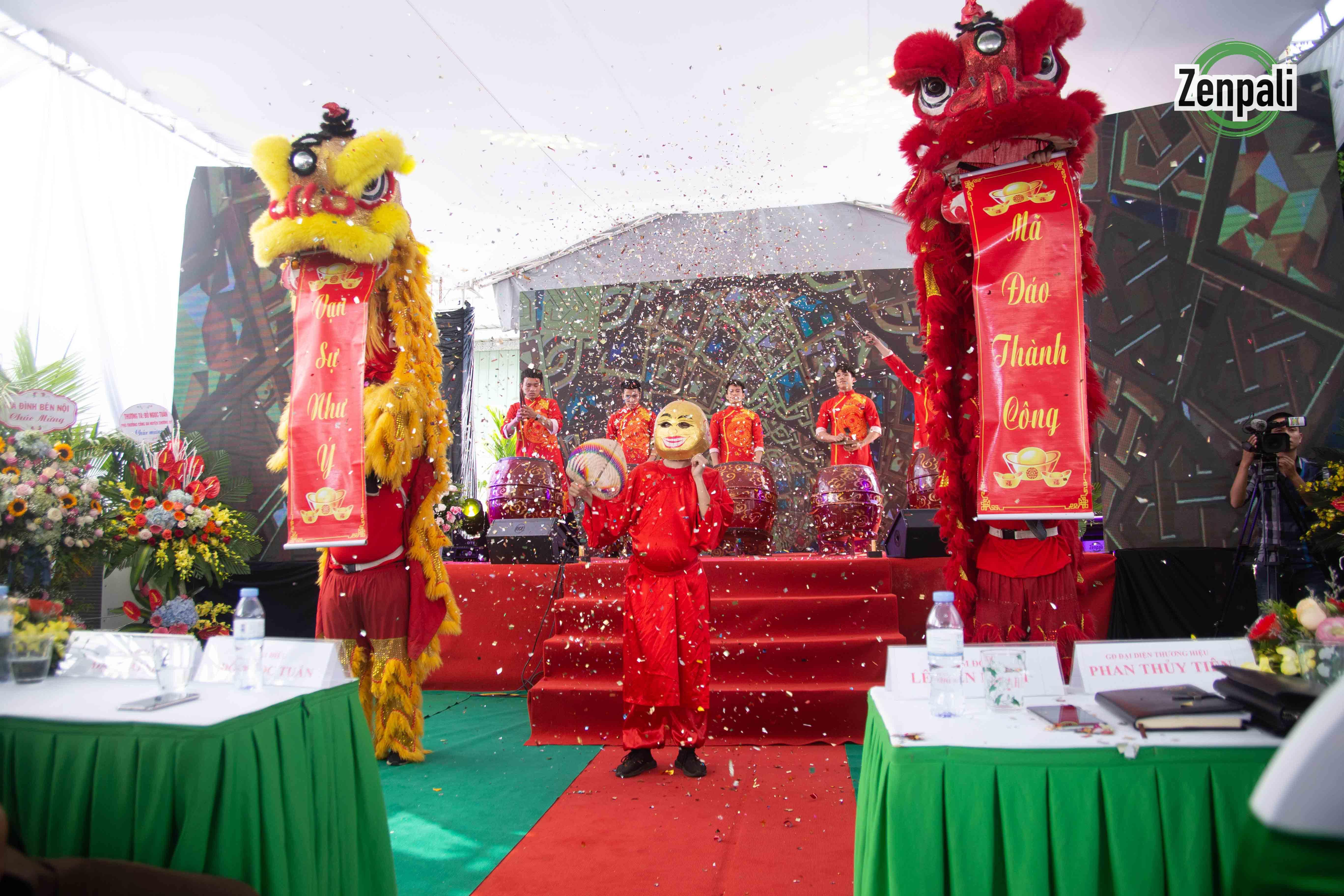 Hình ảnh sự kiện khánh thành nhà máy mỹ phẩm Zenpali