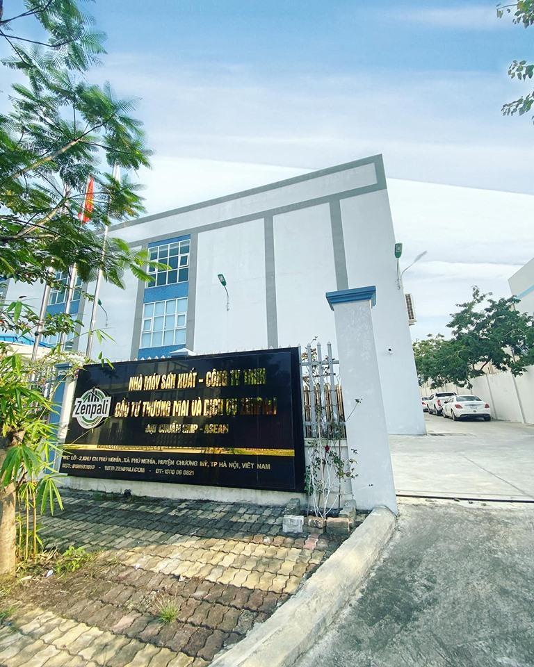 Hình ảnh nhà máy sản xuất mỹ phẩm Zenpali